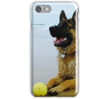 Mr Max at the Beach iPhone Case/Skin