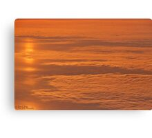 High Above The Clouds © Canvas Print