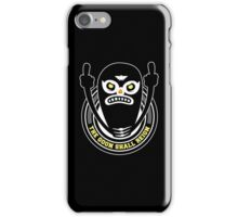 THE GOON SHALL REIGN iPhone Case/Skin