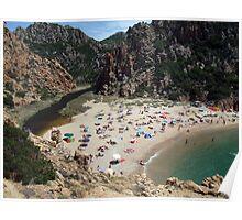 Sardinian Beach Poster