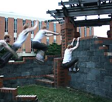 Parkour Wall Leap by Walter Collazo