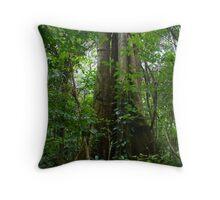 Jungle Tree Throw Pillow