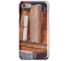 old coffer container iPhone Case/Skin
