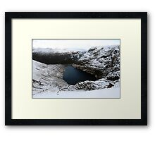 Irish corrie lake Framed Print