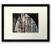 Prague Backstreets Framed Print