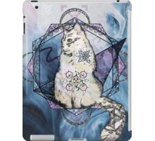 Chat cosmique iPad Case/Skin