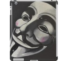 V is for Vendetta iPad Case/Skin