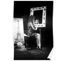 Through the mirror Poster