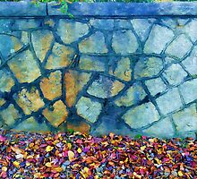 Retaining Wall by DonBPhotography
