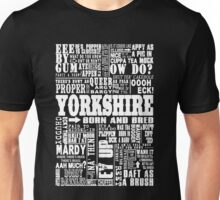 YORKSHIRE SAYINGS Unisex T-Shirt