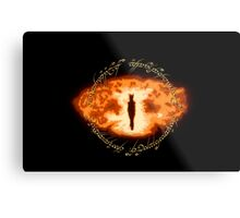 Sauron -- One Ring Metal Print