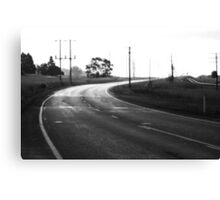 Ghost Highway Canvas Print