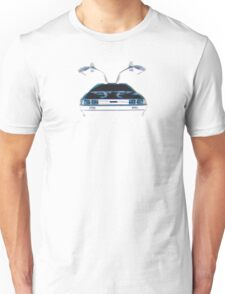 Delorean (CMYK) Unisex T-Shirt