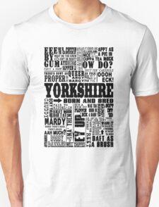 YORKSHIRE SAYINGS T-Shirt