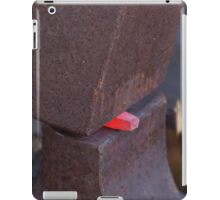 rock and a hot iron iPad Case/Skin