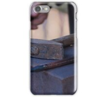 hammer and anvil iPhone Case/Skin