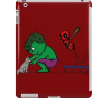 Deadpool's Hulkbuster iPad Case/Skin