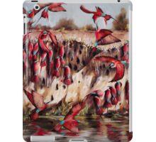 Carmine Bee Eaters iPad Case/Skin