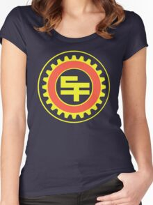 San Fransokyo Institute of Technology (No Text) Women's Fitted Scoop T-Shirt