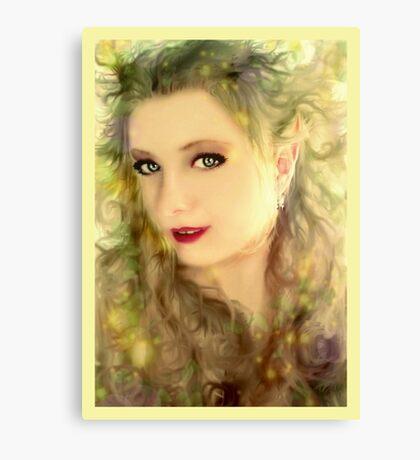 Sunshine Elf Canvas Print