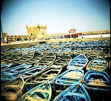 The Classic Essaouira Boat Shot by eyeshoot