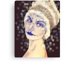 Miss Ice Canvas Print