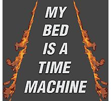 My Bed Is A Time Machine Photographic Print