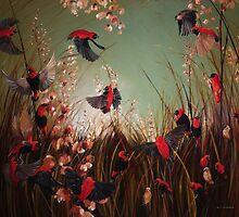 Red Bishop 2 by Nicole  Sanderson