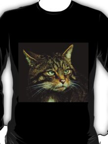 Scottish Wildcat close up T-Shirt