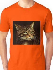 Scottish Wildcat close up Unisex T-Shirt