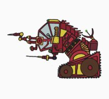 Drill Bot by MuscularTeeth