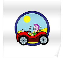 Dune Buggy Poster
