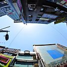 Looking Up with Fisheye by Christian Eccleston