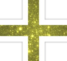 Gilded Galaxy | Hands of God Sticker