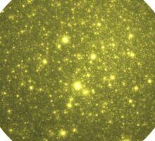 Gilded Galaxy   Rising Shining Setting Sun Sticker