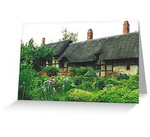 Anne Hathaway Cottage - England Greeting Card