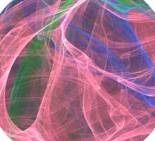 Impossible Dancing Silk Celebrating The New Year   Rising Shining Setting Sun Sticker