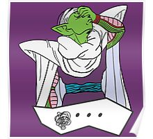 Piccolo Facepalm - Dragon Ball Z Poster