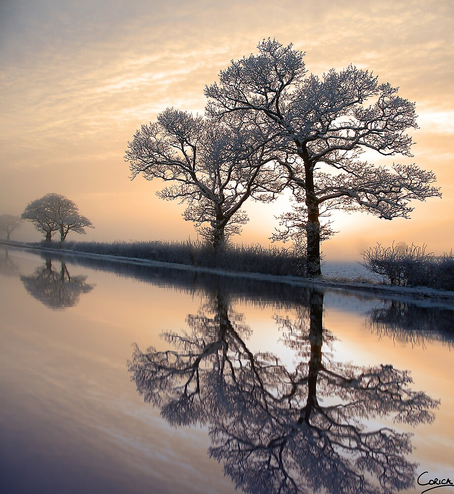 Winter Sunset by Paul Corica