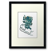 Peace In Space  Framed Print