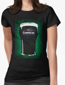 pint of beer Womens Fitted T-Shirt
