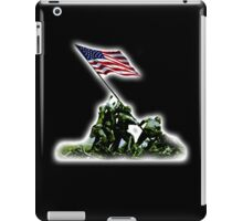 American War Flag, USA, Raising the Colours, Iwo Jima, America, Americana, WW2, WWII iPad Case/Skin