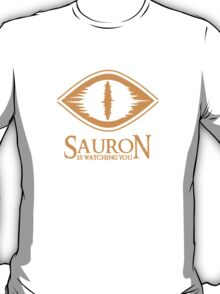 SAURON EYE - is wathing you - big brother - 1984 -  T-Shirt