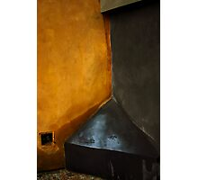Prague Wall Intersection Photographic Print