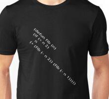 Fibonacci (White) Unisex T-Shirt