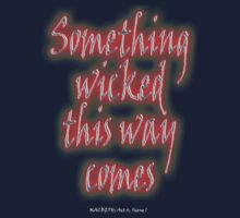Something Wicked, Macbeth, Shakespeare Play, Theater, Play, Second Witch Kids Clothes
