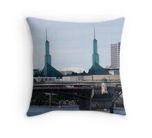 Portland Convention Center Throw Pillow