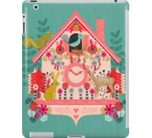 I'm Cuckoo For You - Vintage Cuckoo Clock Illustration for Valentines Day iPad Case/Skin