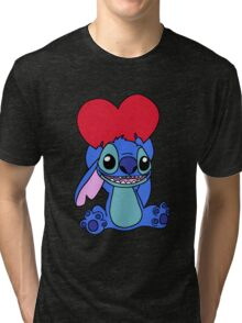 Stitch with heart Tri-blend T-Shirt