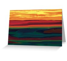 Sunset in Ottawa Valley Greeting Card